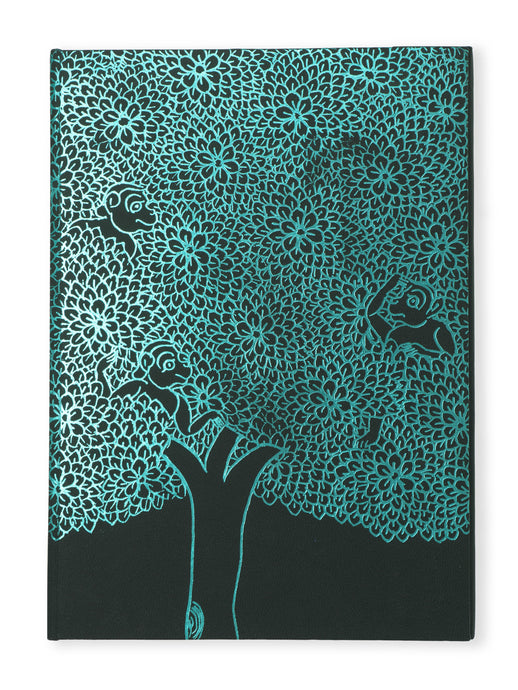 Hardcover Notebook - Leaves