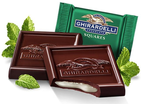 Ghirardelli Mint Dark Chocolate Squares