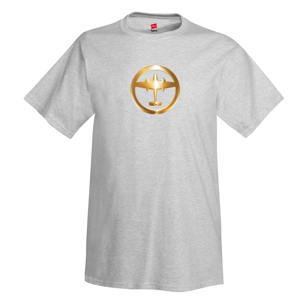 Airplane Badge 2 Aviation T-Shirt
