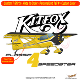 Kitfox 4 Speedster Airplane T-shirt- Personalized with N#