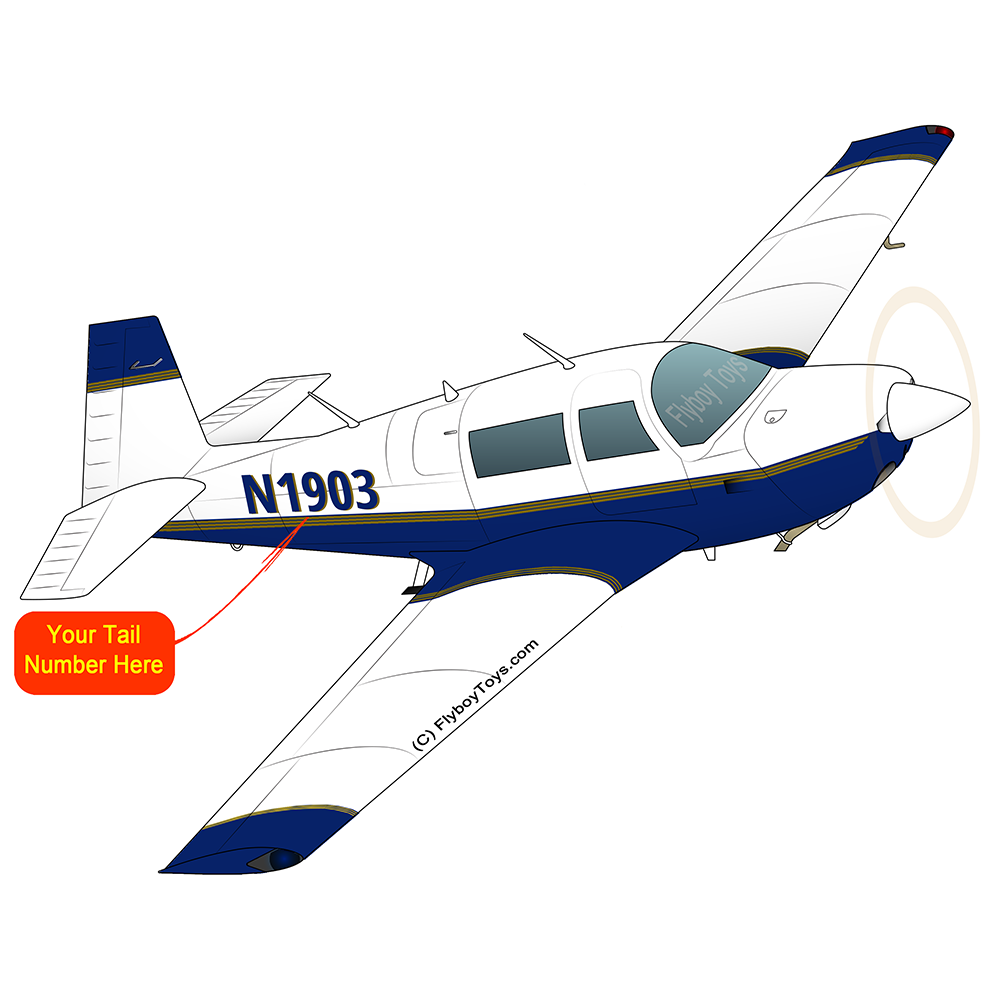 Airplane Design (Blue) - AIRDFFM20J-B1