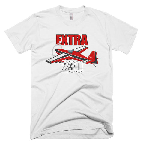Extra 230 (Red) Airplane T-shirt- Personalized with N#