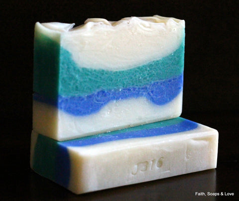 Ocean Rain - Handcrafted Small Batch Soap