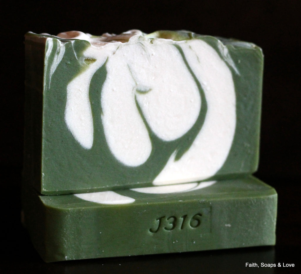 Redeemed - Gardenia Scented Handcrafted Soap