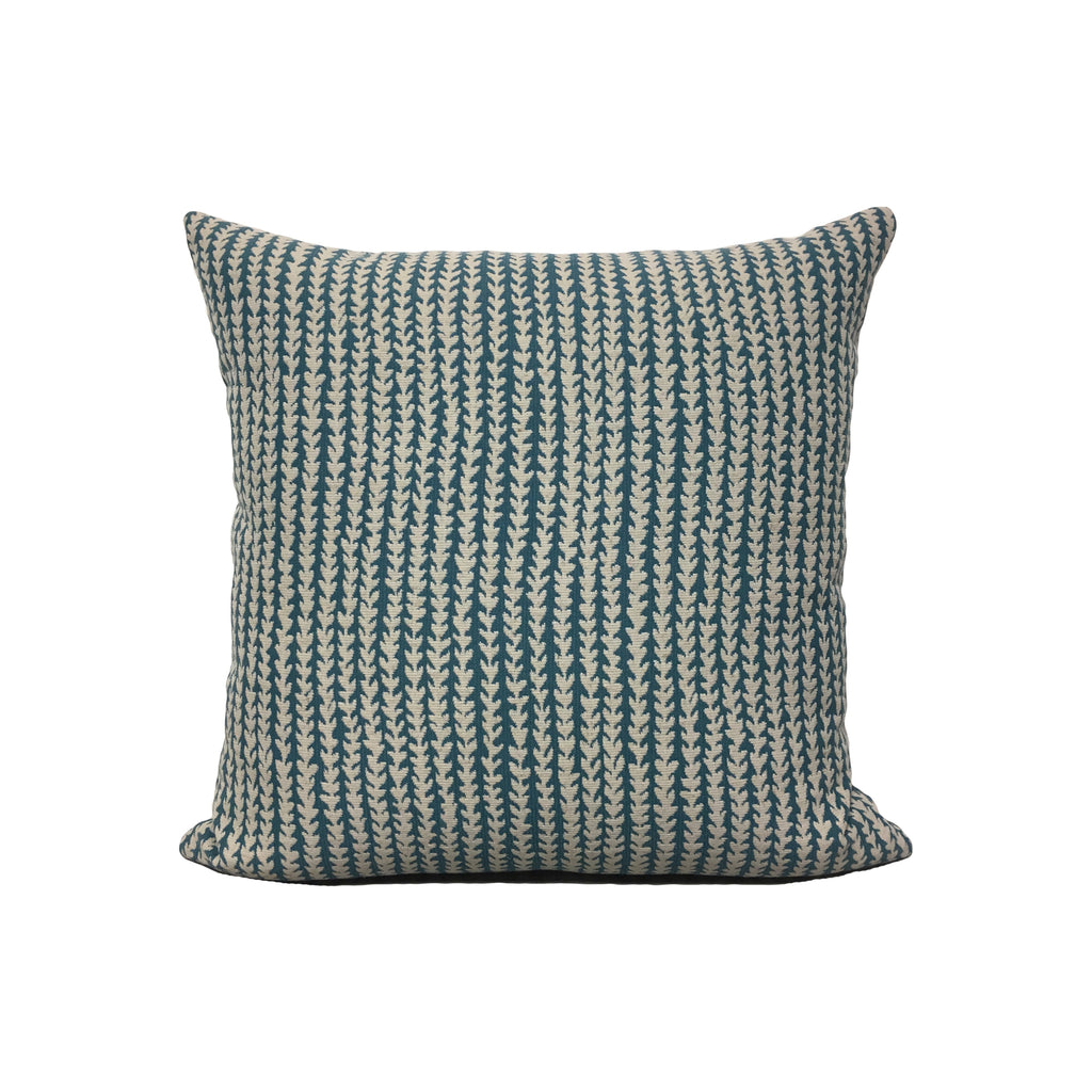 Gibson Turquoise Throw Pillow 17x17""