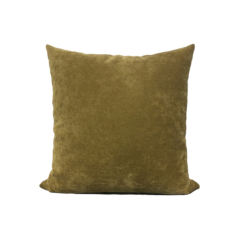 Royal Chenille Light Brown Throw Pillow 17x17""
