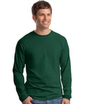 Hanes - Beefy-T Long Sleeve T-Shirt - Silkscreen - 5186
