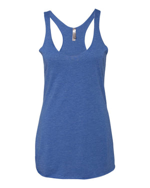 Next Level - Women's Triblend Racerback Tank - Silkscreen - 6733