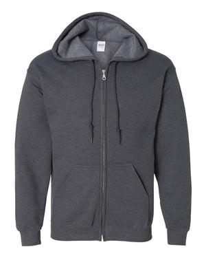 Gildan - Heavy Blend Full-Zip Hooded Sweatshirt - Silkscreen - 18600