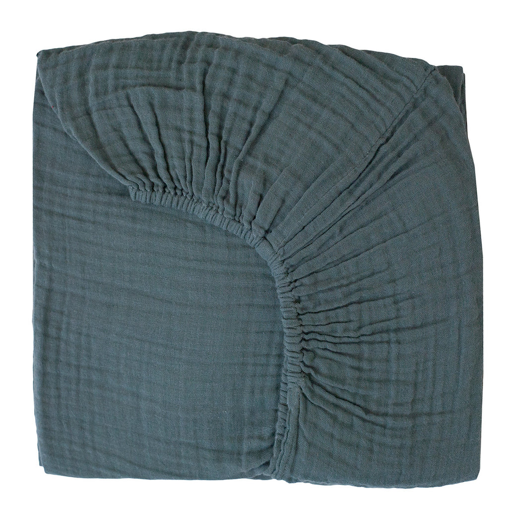 Fitted Sheet - Ice Blue