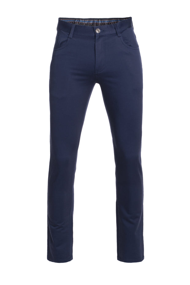 Navy Skinny Pants (1122)