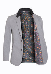 Gray Fashion Blazer (1328)