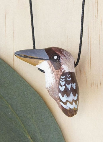 Songbird Whistle Necklace - Laughing Kookaburra