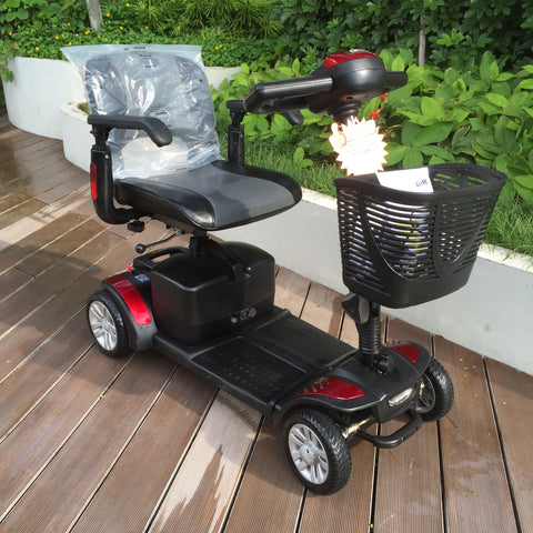 Refurbished Spitfire 4-Wheel Mobility Scooter (Red) for Sale (Display Set)