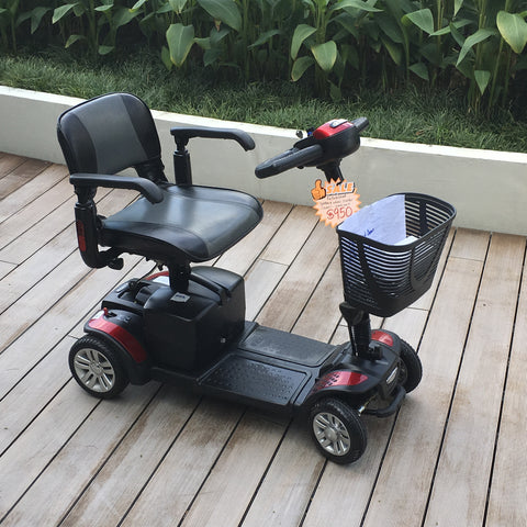 Refurbished Spitfire 4 Wheel Mobility Scooter