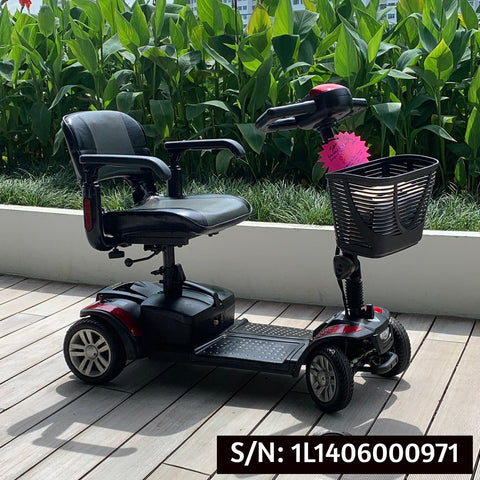 Used Spitfire 4-Wheel Mobility Scooter - $700