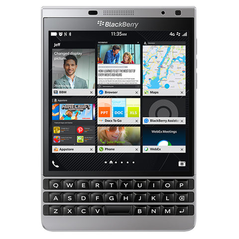 BlackBerry Passport SQW100-4 32GB Unlocked Smartphone
