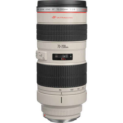 Canon EF 70-200mm f/2.8  L USM Telephoto Zoom Lens