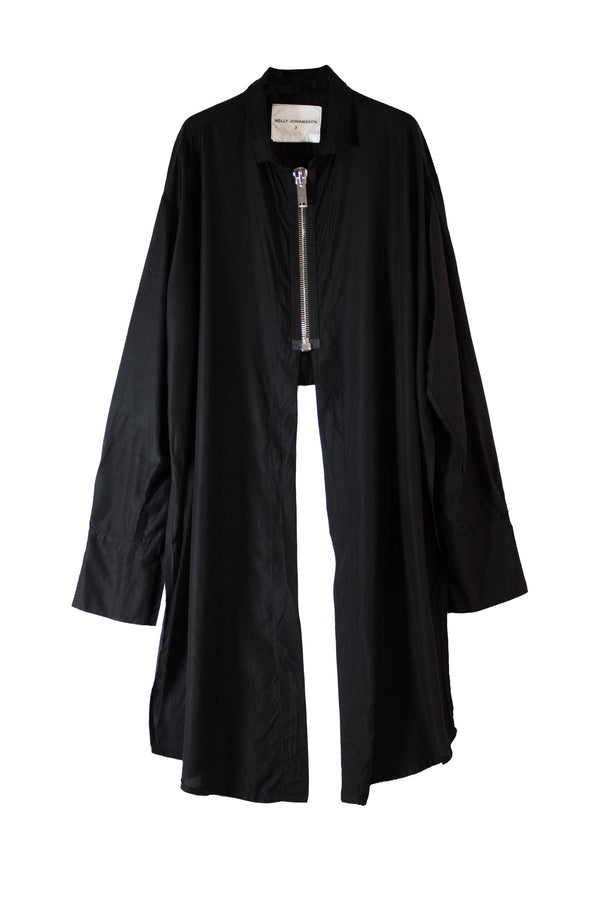 NELLY JOHANSSON ZIP SHIRT DRESS