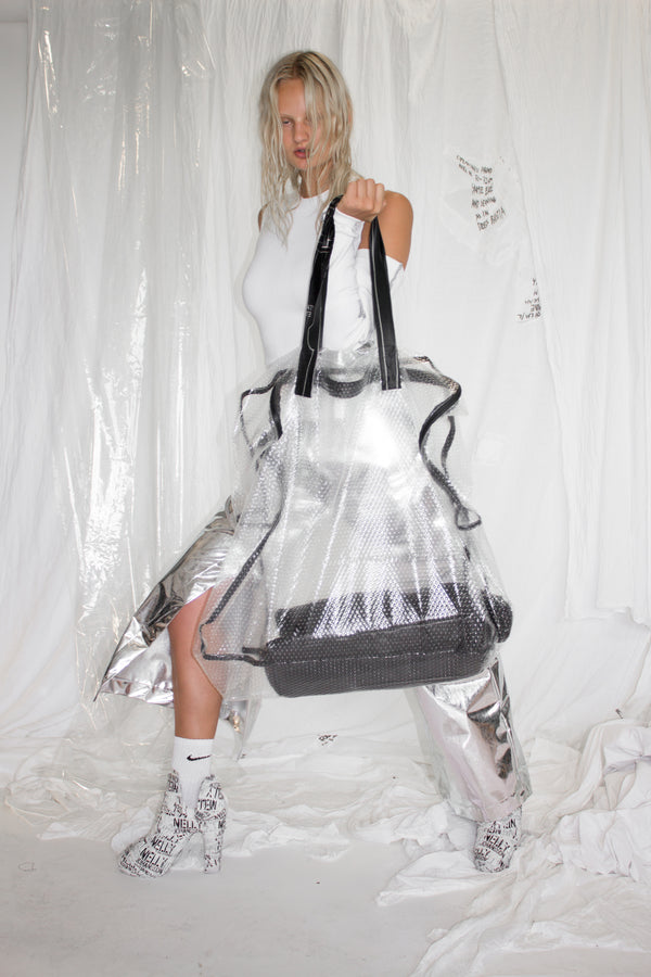 CARL IVAR + NELLY JOHANSSON OVER SIZED BUBBLEWRAP BAG