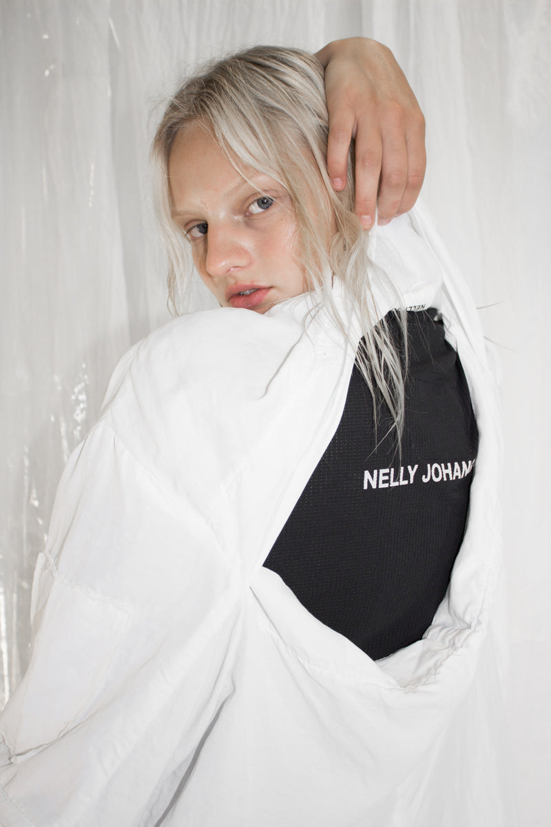 CARL IVAR + NELLY JOHANSSON VENTILE T-SHIRT LOGO WITH PRINT