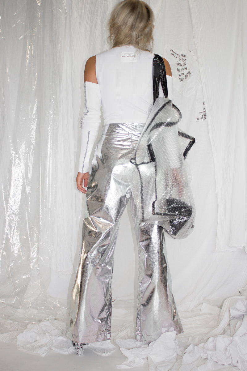 NELLY JOHANSSON SILVER PANTS