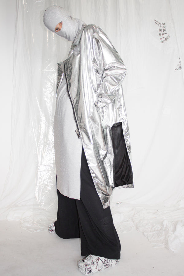 NELLY JOHANSSON SILVER JACKET