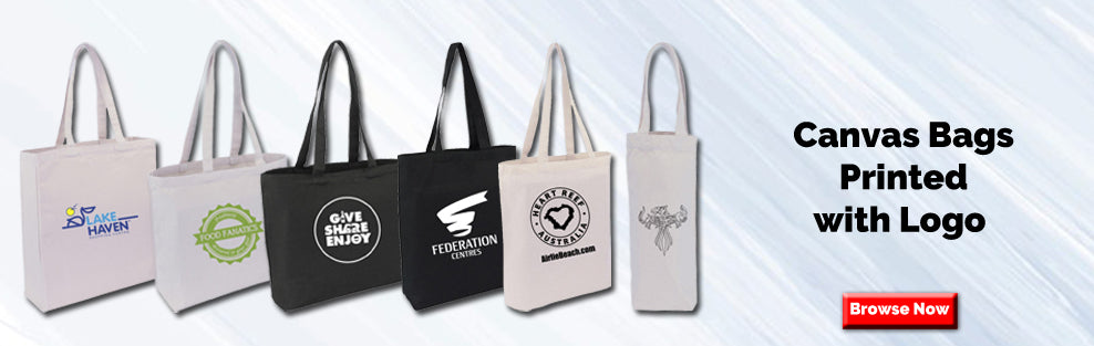 Canvas Bags Printed With Logo