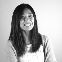 Black and White Portrait of Steph Ho