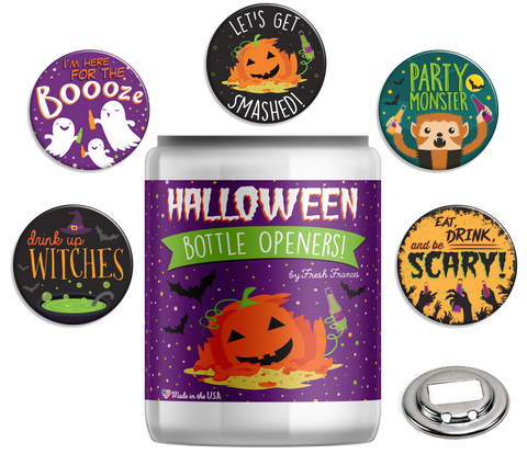 Halloween Bottle Openers Jar