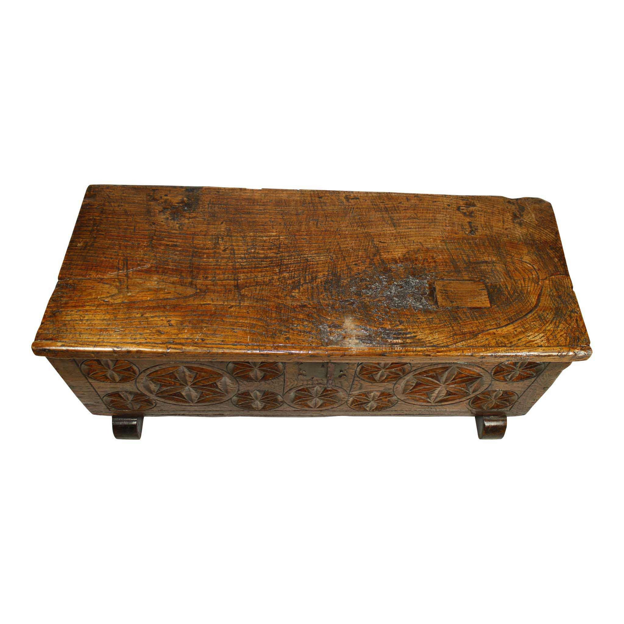 French Oak Trunk