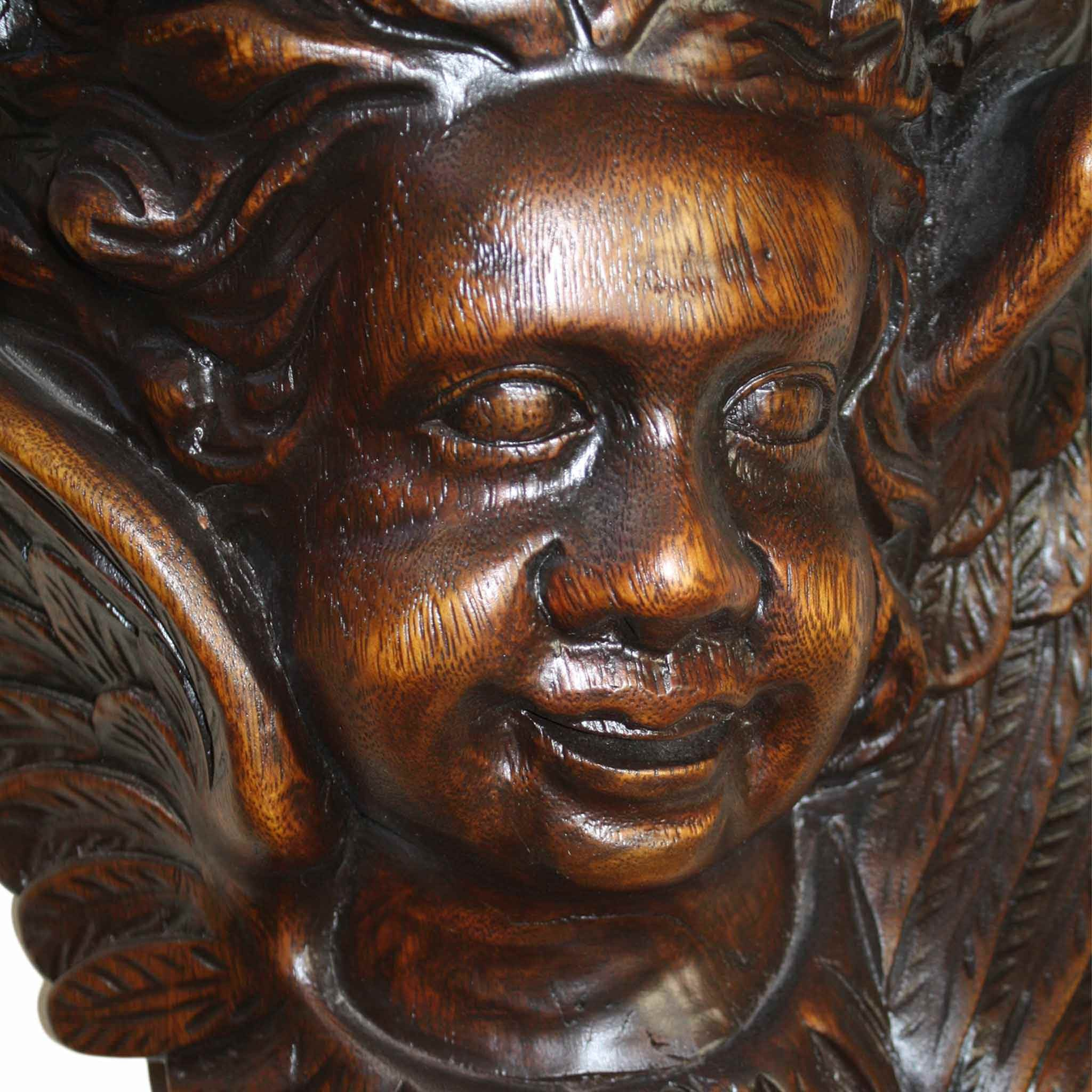 Shelf with Two Cherubs (1stdibs)