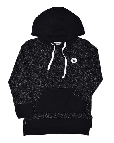 RT0407 TRIBE HOOD in BLACK
