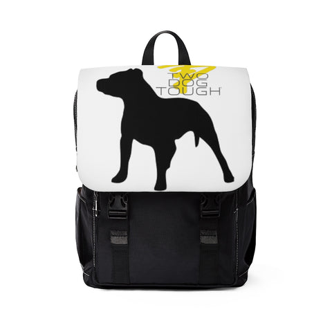 Two Dog Tough™ Classic Pitbull Silhouette Backpack