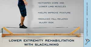 Slacklining in Lower Extremity Rehabilitation