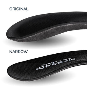 foot insole / foot orthotic in original and narrow