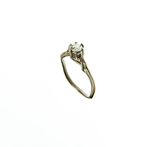 Enchanted 18ct White Gold .30pt Diamond Ring