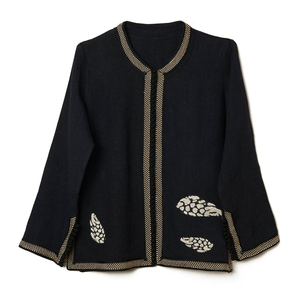 Embroidered Shell Tunic