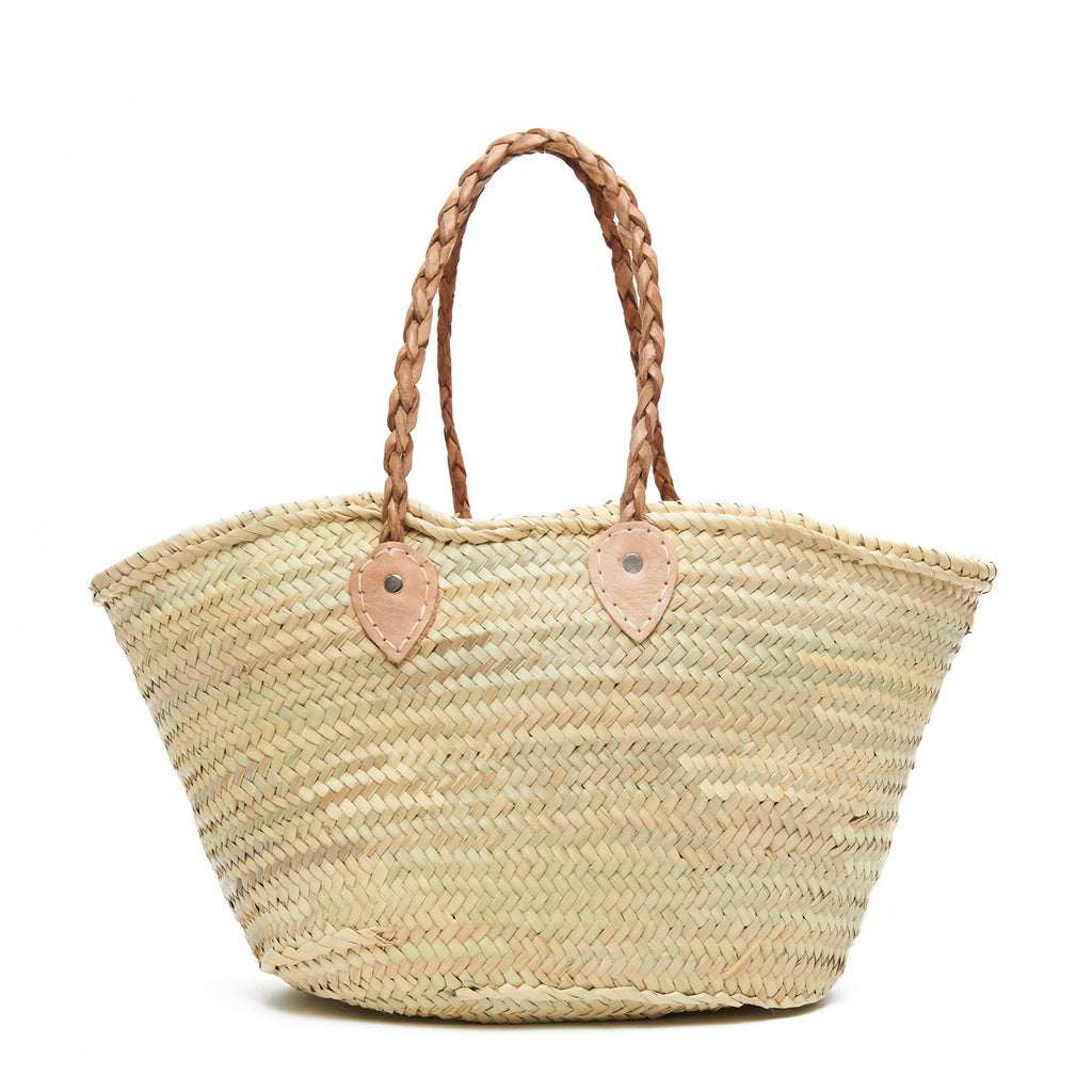 Out of Office Embroidered Basket