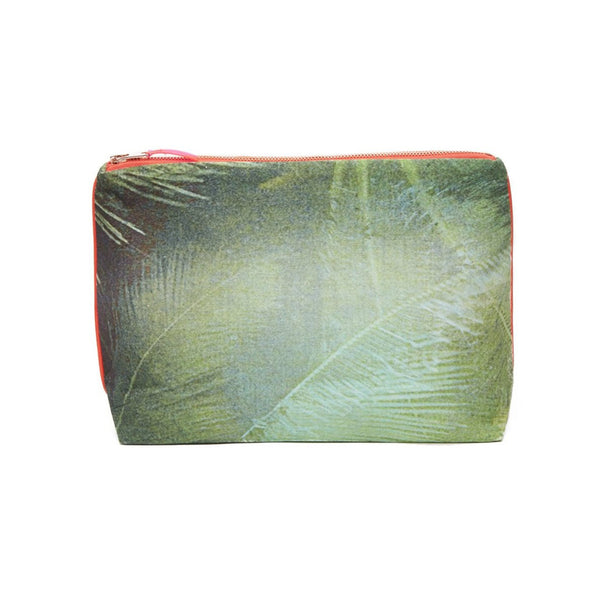 Emerald Palmas Cotton Pouch