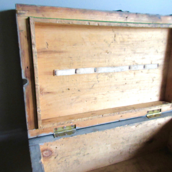 Military Issue Wooden Storage Case