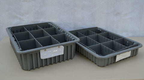 Storage Bins / Tray Kit - (6) Short (6) Tall
