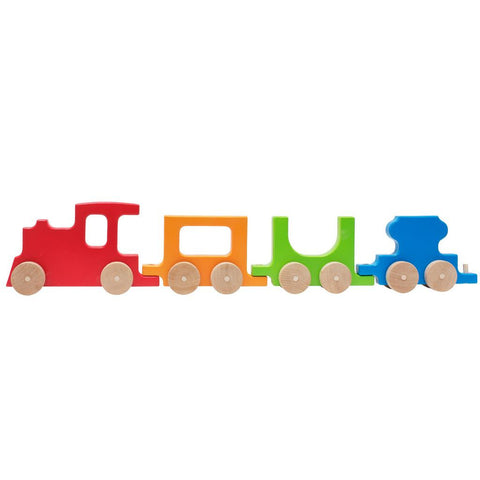 Wooden Train Push Toy by Manny & Simon - Noa & Vivi Kids Apparel