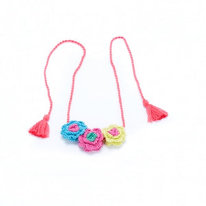 Crochet Flower Necklace - Noa & Vivi Kids Apparel