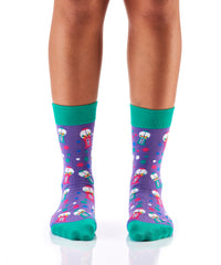 Got Any Gum?: Women's Crew Socks - Yo Sox Canada