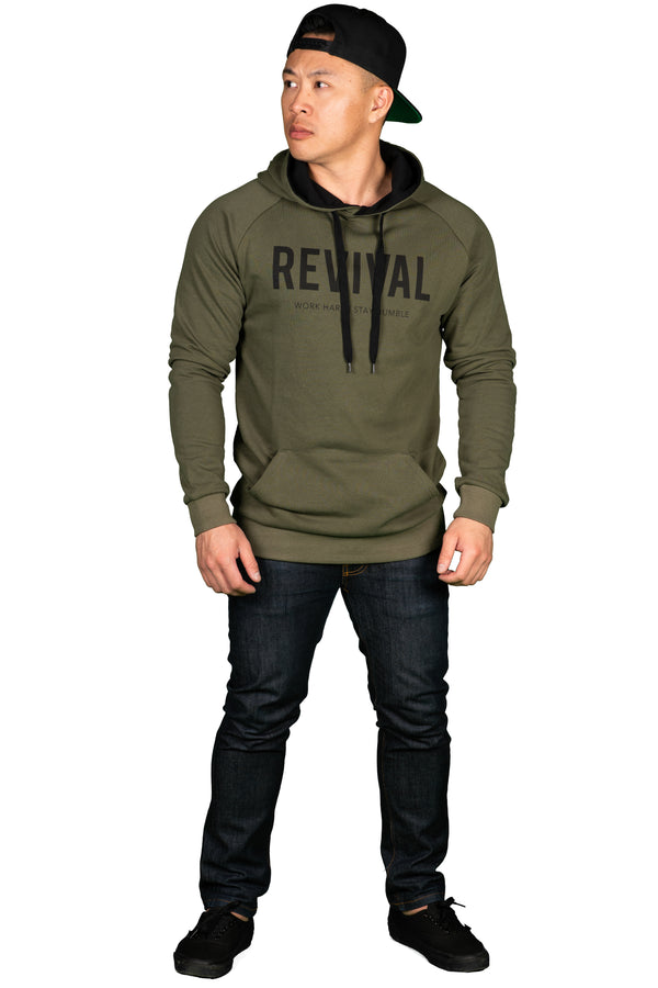Training Pullover - Military Green
