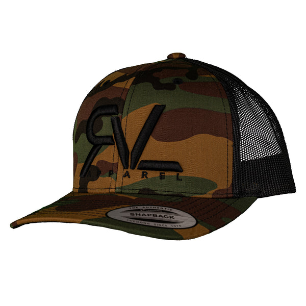The Trucker - Camo/Black
