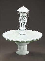 Sweetheart Garden Water Fountain, Garden Outdoor Fountains - Outdoor Fountain Pros