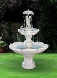April Showers Tiered Garden Fountain