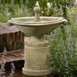 Borghese Garden Water Fountain, Garden Outdoor Fountains - Outdoor Fountain Pros